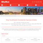 [MEL] Summer Fare Southbank Docklands & City Express Melbourne Tullamarine Airport $28.05 Return or $14.88 One Way @ Skybus