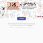Fujifilm $50 Cashback on SQ6, SQ10, SQ20 & SP-3 Share Printer