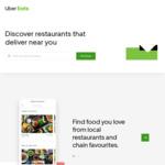 $20 off UberEATS (New Customers)