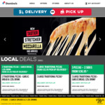 3 Traditional or Value Range Pizzas Delivered for $24 @ Domino's (Selected Stores)
