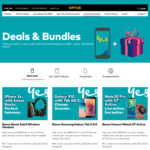 Bonus Gifts with Selected Handsets on $85+ Plans @ Optus