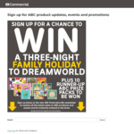 Win a Family Trip to Dreamworld Worth $3,500 or 1 of 10 CD/DVD Packs Worth $144.55 from Australian Broadcasting Corp