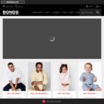 40% off Sitewide + Free Shipping (Account Required) and Returns + 15% Cashback via ShopBack @ Bonds