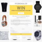 Win a $750 Style Accessories Voucher from Fitzrovia & Co