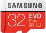Samsung EVO  Plus Micro SDHC Memory Card with SD Adapter 32GB $8, 64GB $18, 128GB $43 (C&C/Spend $25 Shipster) @ Harvey Norman