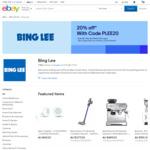20% off (Max Discount $1000) @ Bing Lee eBay