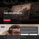 Win 1 of 20 The Goldfinch Double Pass & Merchandise Packs Worth $281 from Roadshow