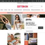 30% off Full Priced Items @ Cotton on