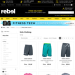 20% off Under Armour Kids Clothing (Excludes Sale, Supporter Wear, Socks) + Free Shipping over $150 @ rebel