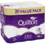 [NSW] Quilton White 3 Ply Toilet Tissue 36 Pack $12.50 @ Supa IGA