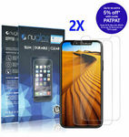2x Nuglas Tempered Glass Screen Protectors | iPhone 11/X/XS/8/7 $3.49 | 11 Pro Max/XS Max/8+/7+ $4.49 Delivered @ Gearbite eBay