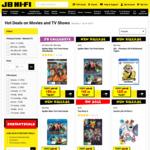 20% off Blu-Rays, DVDs and 4K @ JB Hi-Fi