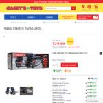 Razor Turbo Jetts Electric Heel Wheels $29.99 (RRP $199.99) + Shipping @ Casey's Toys