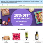 20% off Online & Instore, Free Citrus Beauty Bag for + $90 (Online) and Free Delivery for + $99 @ The Body Shop
