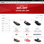 Up to 60% off Clearance Crocs + Further 30% off at Checkout, Free Shipping @ Crocs Australia
