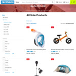 Camping Essentials - Decathlon Summer Sale - up to 40% off