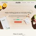 25% off Personalised Vitamin Packs @ Vitable