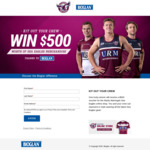 Win $500 Worth of Manly Warringah Sea Eagles Merchandise from PharmaCare