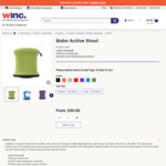 [NSW, WA] 80% off Bobo Active Stool Range - from $30 + Delivery (Was $159) @ Winc.com.au