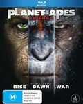 Planet of The Apes Trilogy Blu-Ray $13.58 + Delivery ($0 with Prime/ $39 Spend) @ Amazon AU