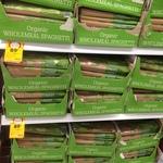 [WA] Coles Organic Wholemeal Spaghetti 500g $0.89 (Was $1.65) @ Coles (Maylands)