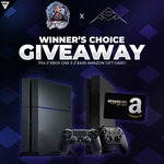 Win your choice of a PS4, Xbox One X or $400 Amazon Gift Card from LuckyShots & Officer Stealth