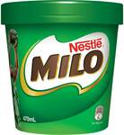 ½ Price Milo Ice Cream Tub 470ml $3.50 @ Woolworths