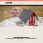 $12 Per Year (40% off) Lifetime Australian Web Hosting @ UpTime Web Hosting