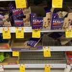 [VIC] Assorted Cadbury Chocolate and Nuts $0.25 - $1 @ Coles (Doncaster)