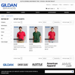 $5 Gildan Polo Shirts (5 for $25), 4 Styles + 10 Colours, Mix & Match + $11 Delivery (Ships from Sydney Warehouse) @Gildanbrands