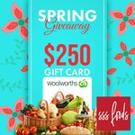 Win 1 of 2 $250 Woolworths Gift Cards from SSS Foods