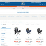 AFL-Themed Camping Chairs - $65 (Was $114.99) @ BCF