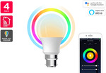 [Presale] 4pk 10W Colour & Warm/Cool White Smart Bulb (B22/E27/E14) $29.99 + Shipping (Free Delivery with Kogan First) @ Kogan