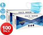 2x 3 Ply Disposable Face Masks 50-Packs (100 Masks) $19.80, 1 Box (50 Masks) $9.90 Delivered @ Catch