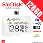 SanDisk High Endurance MicroSD 128GB $25.95 Delivered @ Shopping Square