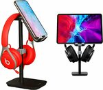 Headphone & Phone Stand $18.99 + Delivery ($0 with Prime/ $39 Spend) @ Esolei via Amazon AU