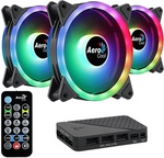 Aerocool Duo 12 Pro ARGB 120mm Triple Fan Kit with RGB Hub $35 (Was $49) + Delivery ($0 with $79 Spend/ Pickup) @ Centre Com