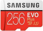Samsung 256GB Evo Plus Memory Card $48.19 Delivered @ The Around Australia via Amazon AU