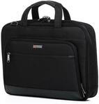 "Qantas RFID Business 16"" Laptop & Tablet Slim Briefcase Black QF2 $31.99 Delivered @ Siricco"