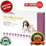 Revolution Parasite Prevention for Puppy, Dog, Kitten & Rabbit Pack of 3 Doses $31.99 Delivered @ PharmacySavings