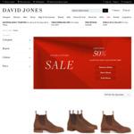30% off Selected R. M. Williams Boots Delivered (e.g. Comfort Craftsman $399, Was $595) @ David Jones