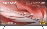 "2021 Sony 65"" 4K HDR UHD LED TV XR65X90J $1950.75, 75"" XR90J $3140.75, 65A80J OLED $3395.75 C&C / + Delivery @ The Good Guys"