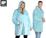 [Kogan First] Cuddle Hoodie Blanket (Sky Blue) $12.99 Delivered @ Kogan