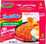 Indomie Mi Goreng Hot and Spicy Flavour Instant Noodles 80g X 5 Packets $2.73 + Delivery ($0 with Prime/ $39 Spend) @ Amazon AU