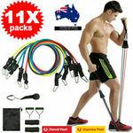 11x Set Resistance Bands Training Elastic $15.99(Was$29.99) Delivered @ deal_saving_master eBay