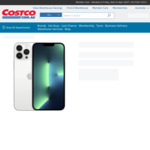 Apple iPhone 13 Pro Max 256GB $1949.99 Delivered (RRP $2019) @ Costco Online (Membership Required)