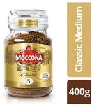 Moccona Coffee 400g Classic, Espresso, or Dark Roast $16 @ Coles