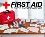 COTD 78 Piece First Aid Kit $10 + $6.95 Shipping ($12 shipping cap)