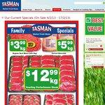 Tasman Market Fresh Meat - Yearling Porterhouse Steak $12.99/Kg (VIC Only)