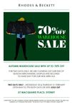 Rhodes & Beckett Private Clients Sale - up to 70% off - All Shirts $59, Buy 4 Get 1 Free
